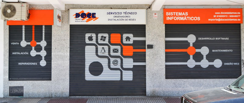 grafiti madrid cierres