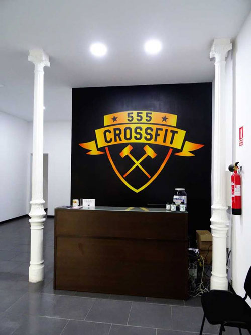 graffiti gimnasio crossfit