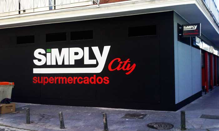 supermercados simply logo